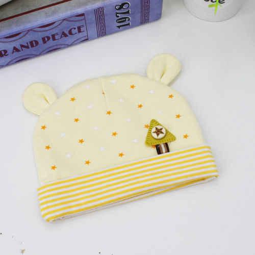 2018 nueva moda Unisex gorro de bebé niño Infante niños niñas otoño e invierno cálido algodón suave lindo sombrero