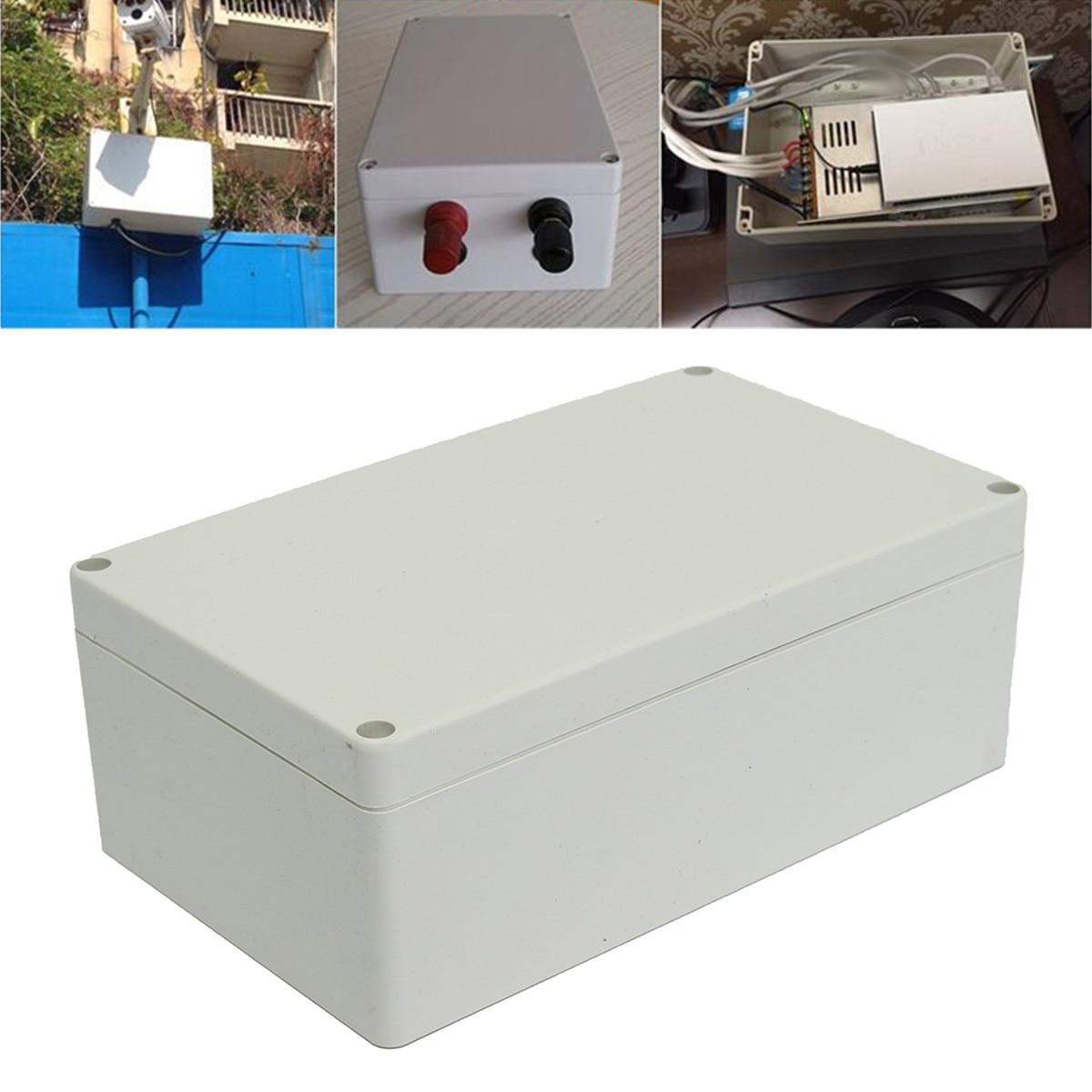 19.8x12x7.5 cm À Prova D' Água Caixa De Plástico Projeto ABS Durável Fácil de Instalar Damp proof Apto para Vários controle de Caixas e Armários|Conectores| |  - title=