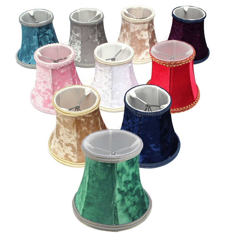 Smuxi Multicolor Wall Lamp Pendant Light Hanging Lampshade Modern Lamp Shades Lint Lamp Cover For Bedroom Living Room