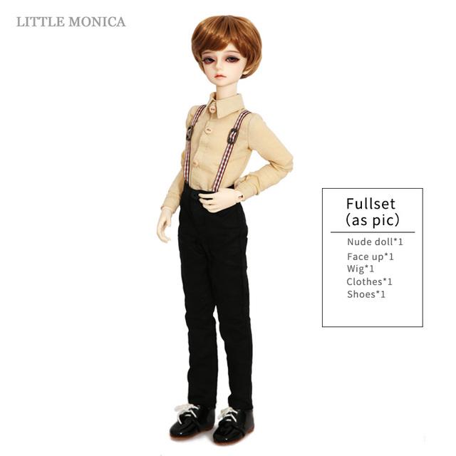 New Arrival Littlemonica LM Little Kliff 1/4 Resin Body Model Boys High Quality Toys Girls Birthday Xmas Gifts BJD SD