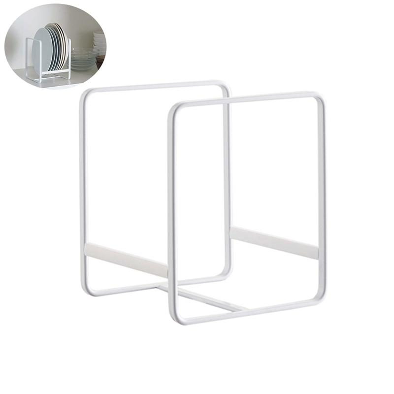 1PC Drain Rack Wrought Iron Nordic Style Simple Tableware Holder Plates Organizer Dish Drying Rack for Cups Kitchen Dishes