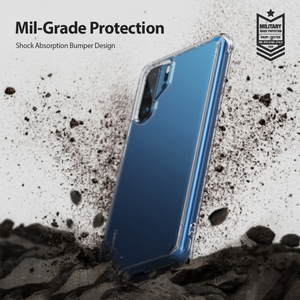 Image 4 - Ringke Fusion Case For Huawei P30 Pro  Flexible Tpu and Clear Hard Back Cover Hybrid  Case