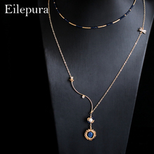Eilepura 2019 new Handmade Natural Fresh Water Pearl Jewelry,Pearl Necklace Pendant fashion necklaces for women Vintage N-A003