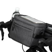 Outdoor Waterproof Bicycle Front Bag Multi Function Mobile Phone Touch Screen Navigation Bag Bag Large Capacity Bicycle Bag