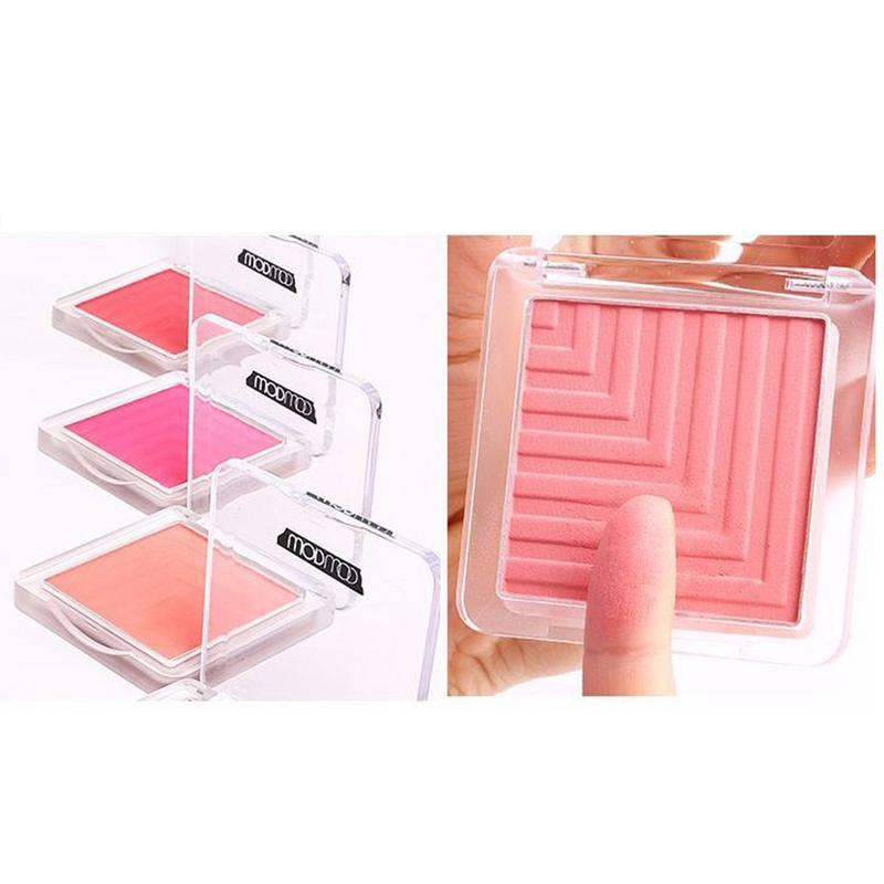 Blush Monochrome Rouge Shimmer Makeup Cosmetics Naturally Lasting Facial Beauty