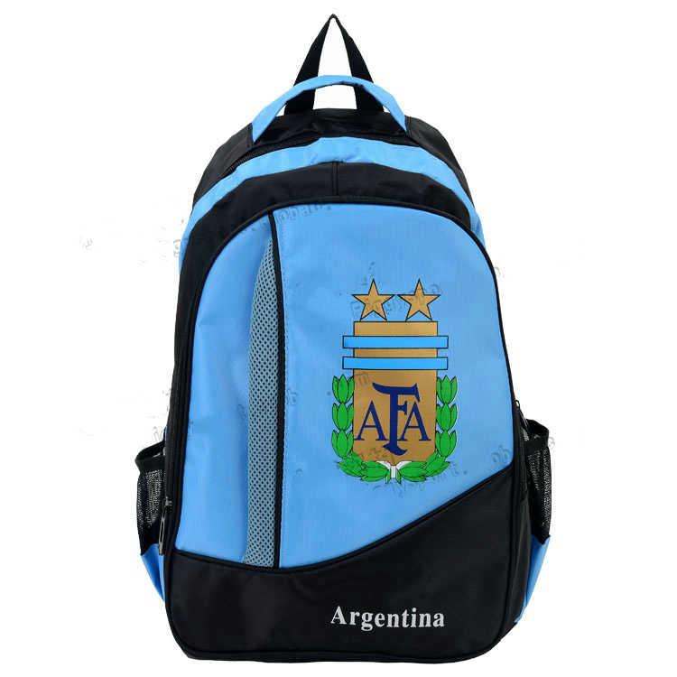 5d5768ce58d Hot World Voetbal Cup Fan Anniversary Souvenir Nylon Espana Argentina  National Team Logo France Football Outdoor