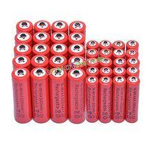 2/10/20/32/50 шт. AA 3000 мАч+ AAA 1800 мАч 1,2 в никель-металл-гидридного красного цвета Перезаряжаемые Батарея сотовый 2A 3A игрушки с дистанционным управлением светодиодная вспышка