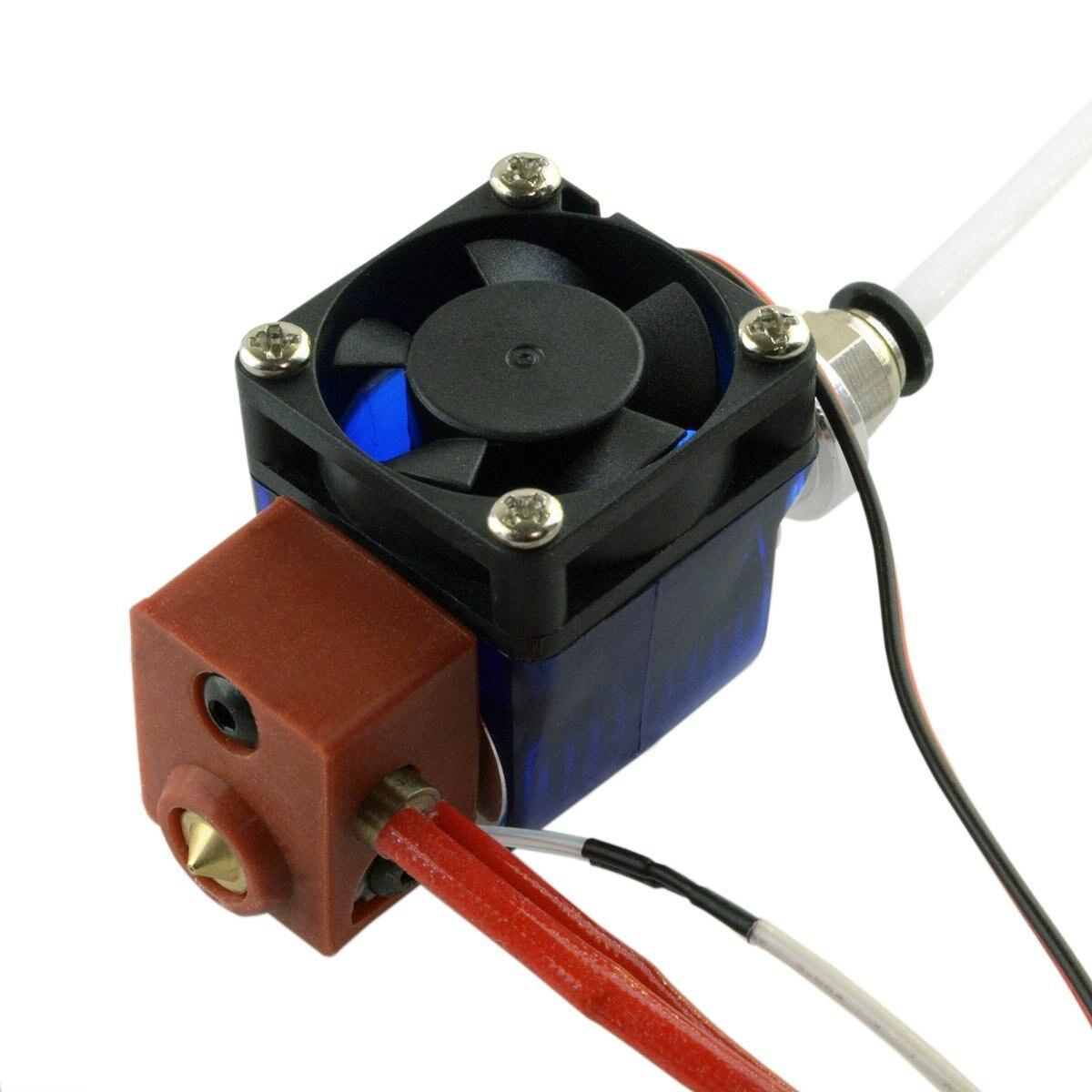 Extrudeuse tout en métal V6 Bowden Hotend pour imprimante 3D-Filament 24 V/1.75mm/buse 0.4mm
