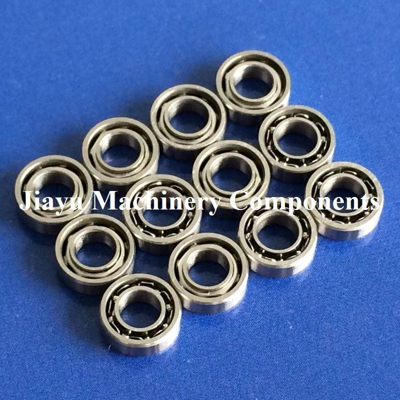 Free Shipping 10 PCS Open Type SMR63 Bearings 3x6x2 Stainless Steel Ball Bearings DDL-630 DDL630 SSL630 SSL-630