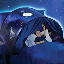 Kids Sleeping Dream Bed Tents Play House Wonderland Princess Tents Children Home Indoor Folding Tent Portable Adventure Gift цена и фото