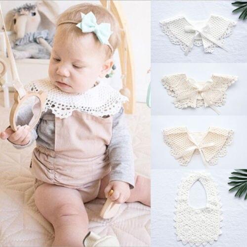 Laço recém-nascido da criança algodão babadores do bebê da menina do menino saliva toalha crianças bib macio alimentação novos acessórios do bebê