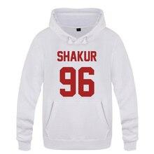 Shakur 96 Tupac 2PAC Rap Rap Hoodies ชาย 2018 ชายเสื้อขนแกะ Hooded Sweatshirts