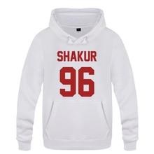 Shakur 96 Tupac 2PAC Rock Rap Hoodies Mannen 2018 mannen Trui Fleece Hooded Sweatshirts