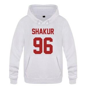Image 1 - Shakur 96 Tupac 2PAC Rock Rap Hoodies Men 2018 Mens Pullover Fleece Hooded Sweatshirts