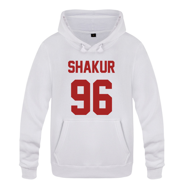 Shakur 96 Tupac 2PAC Rock Rap Hoodies Men 2018 Mens Pullover Fleece Hooded Sweatshirts