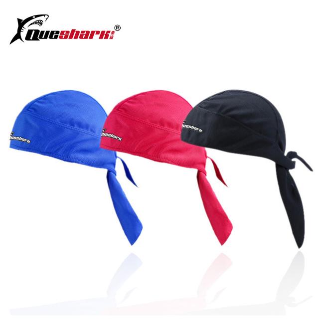 Queshark Men Women Cycling Pirate Cap Ciclismo Bandana Bicycle Headscarf Headwear Outdoor Sports Hiking Running Fishing Hat