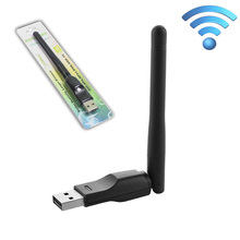 Wholesale 150Mbps USB WiFi Adapter Mini Dongle External Wireless LAN Network Card 2.4GHz 802.11n/g/b for PC Computer for Win 7 8