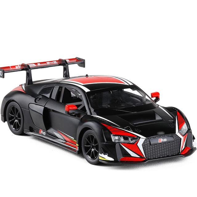 Lms Sport Dtm Racing Alloy Model Diecast Toy Cars 1 24 R8 Light