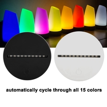LED Night Light Base With Touch Control 3W 5V USB Table Desk Lamp For Decor Kid Gifts