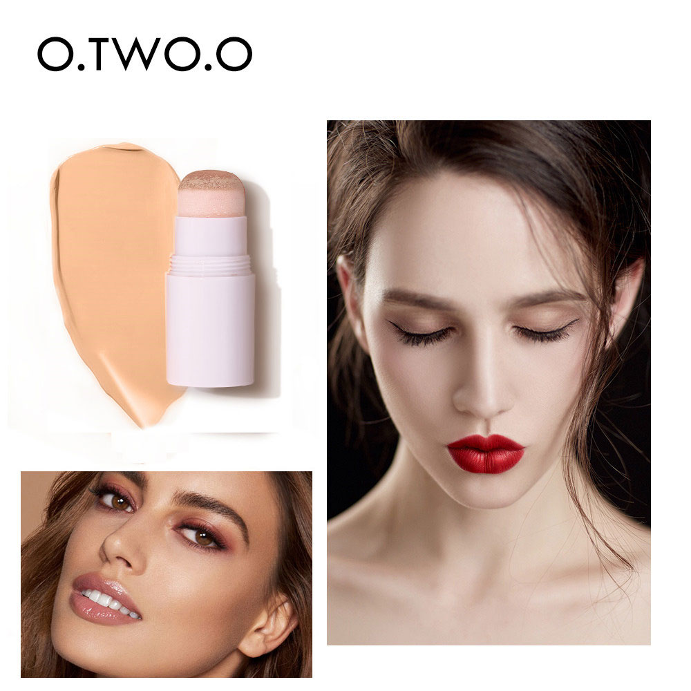 Natural Air Cushion Concealer Stick CC Moisturizing Contour Whitening Face Makeup Lasting Foundation Base Hide Blemish Pores