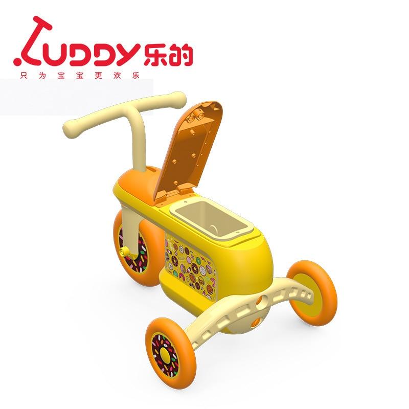 Tricycle de rangement pour enfants 2-3-5 ans bébé garçon bébé poussette vélo pédale tricycle