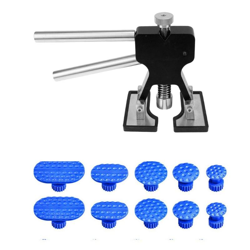 Auto Car Paintless Dent Repair Tools Kit Dent Removal Glue Puller Tabs Sucker Dent Lifter Hand Reparing Tool Set High Quality