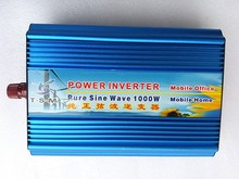 цена на Pure sine wave power inverter 1000W DC 24V to AC 220V 60HZ off grid