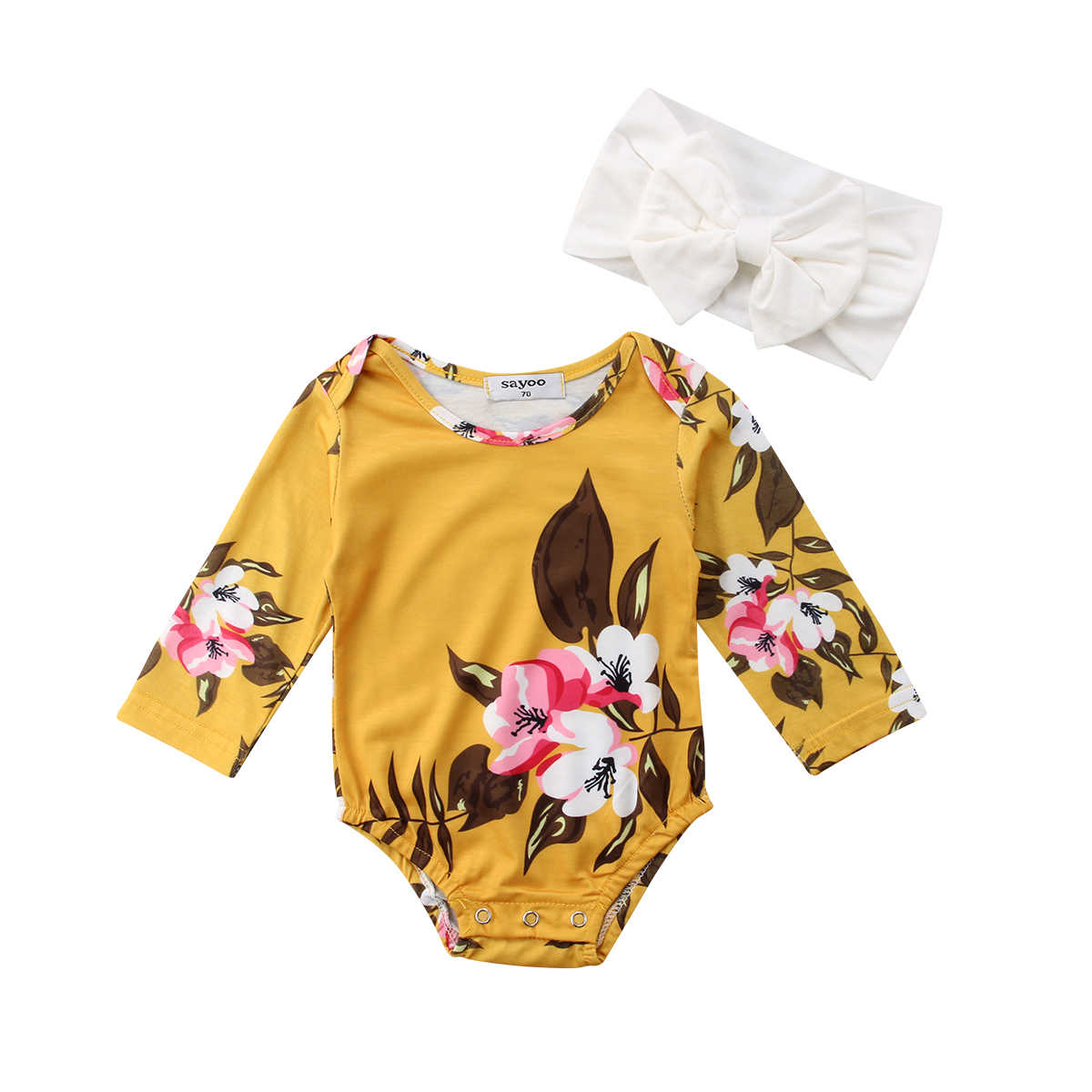 f7609930c7da Detail Feedback Questions about Newborn Toddler Baby Girls Floral ...