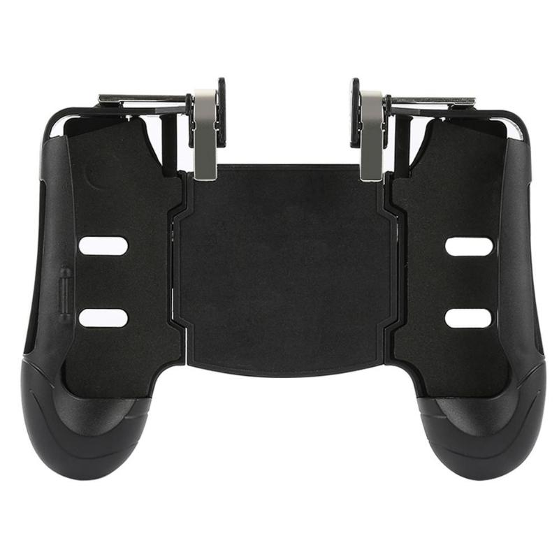 4 in 1 A03 Mobile Phone PUBG Gamepad Controller Shooter Game Trigger Auxiliary Shooting Metal Fire Button for PUBG Accessories