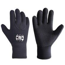 3 мм Неопреновые мужские и женские теплые перчатки для подводного плавания, виндсерфинга, серфинга, подводной охоты, подводного плавания, катания на лодках, мужские перчатки, морозостойкие