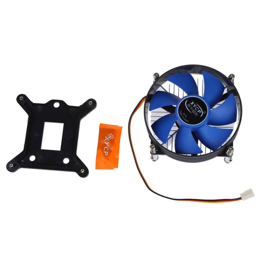 MOOL XYCP Bộ Vi Xử Lý CPU Cooler Tản Nhiệt cho 65 W Intel Socket LGA 1155/1156 Core i3/i5/i7 màu xanh