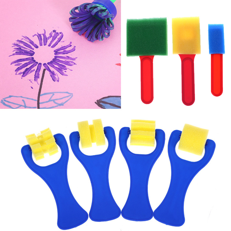 Painting Supplies School Stationery Supplies Drawing Toys Graffiti Art Drawing Plastic Handle Painting Graffiti Toys