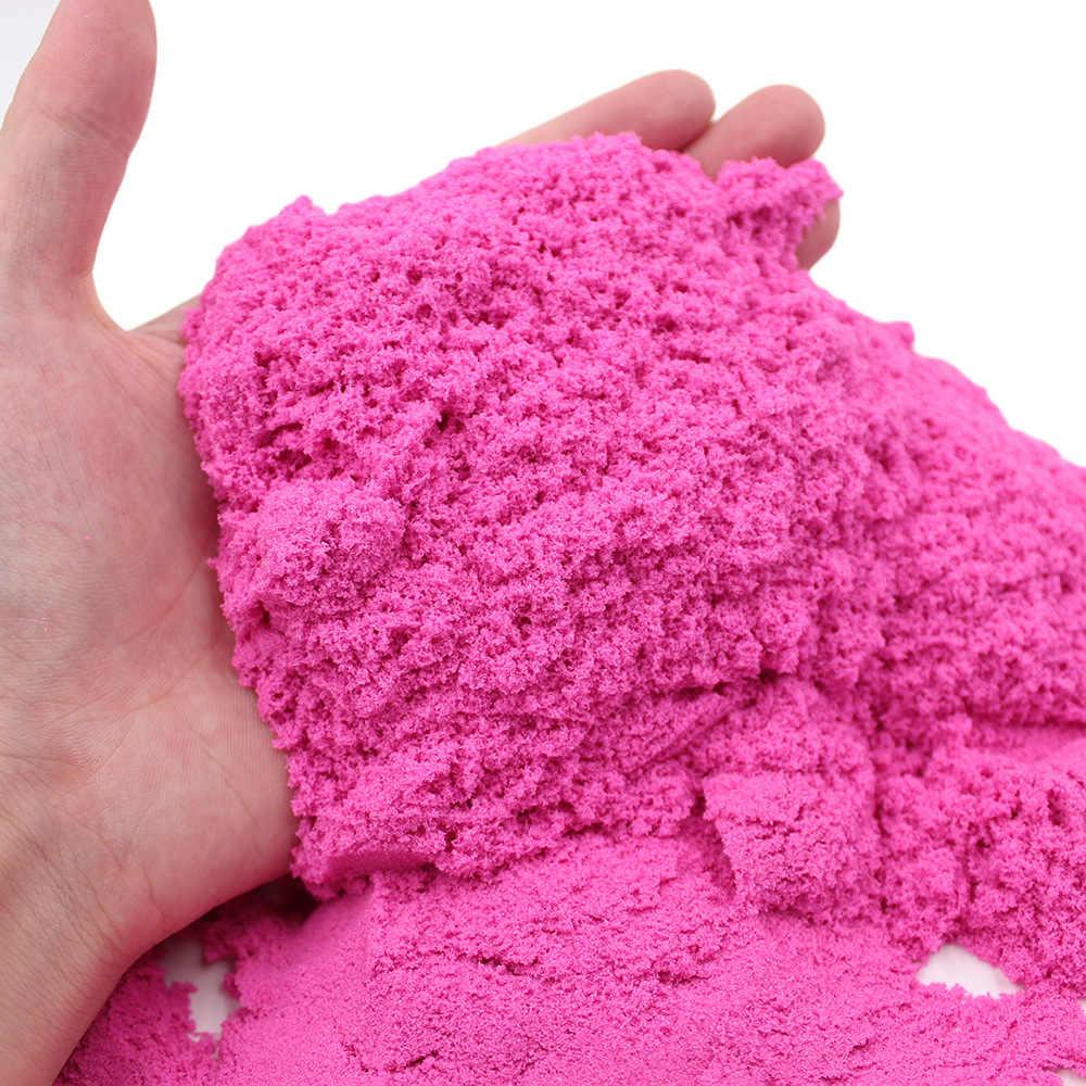 100 g/saco DIY Magia Areia Espaço Areia Brinquedo Slime Coloridos Brinquedos Educativos de Barro Macio Suprimentos Jogar Areia Antistress Brinquedos Dos Miúdos