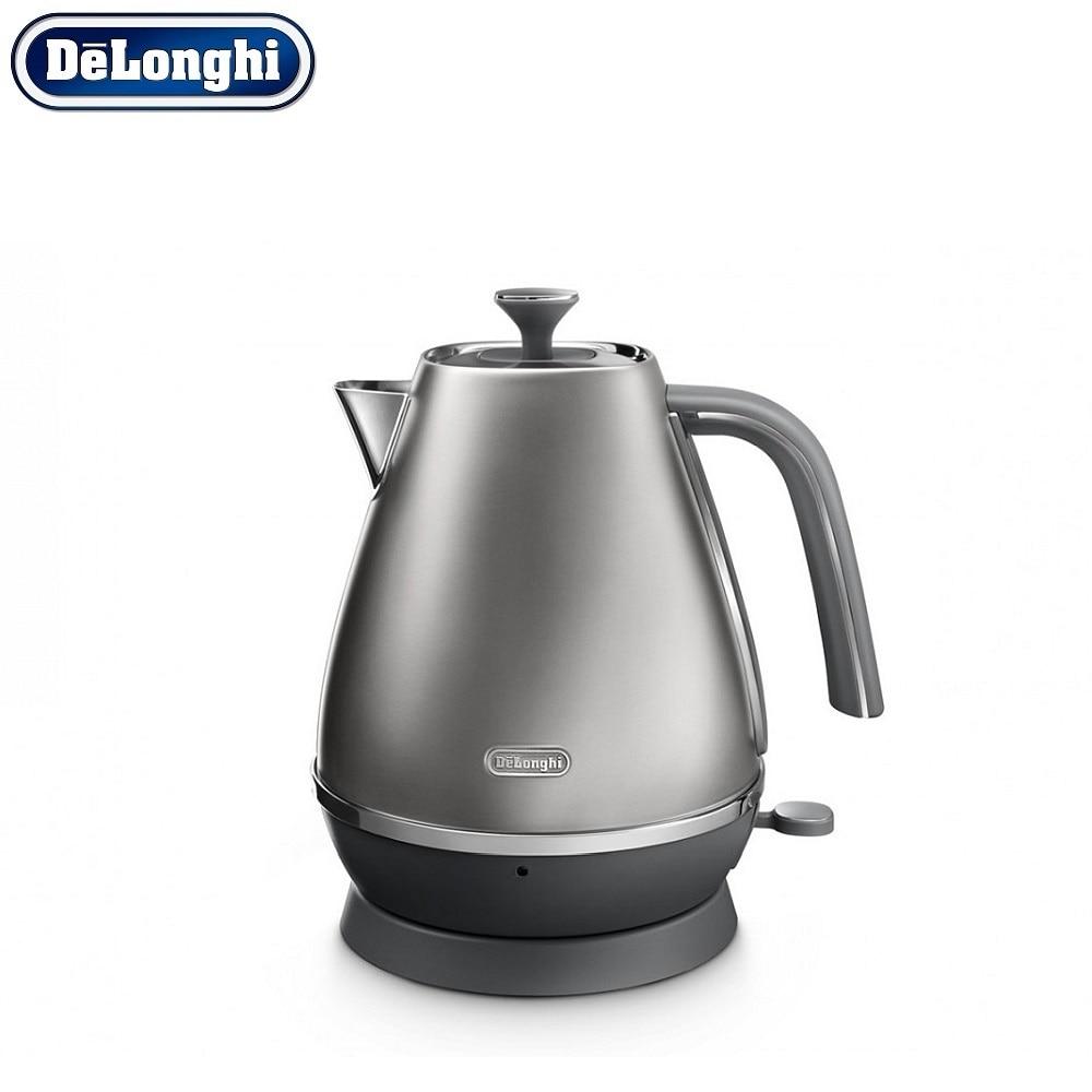 лучшая цена Electric Kettles Delonghi KBI 2001.S home kitchen appliances kettle make tea