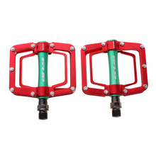 Bicycle Pedals Anti-slip Ultralight Aluminium Alloy MTB Mountain Bike Sealed Bearing Flat Platform Pedal Cycle Parts Accessories 2018 bicycle pedal anti slip ultralight cnc mtb mountain bike pedal sealed bearing pedals bicycle accessories