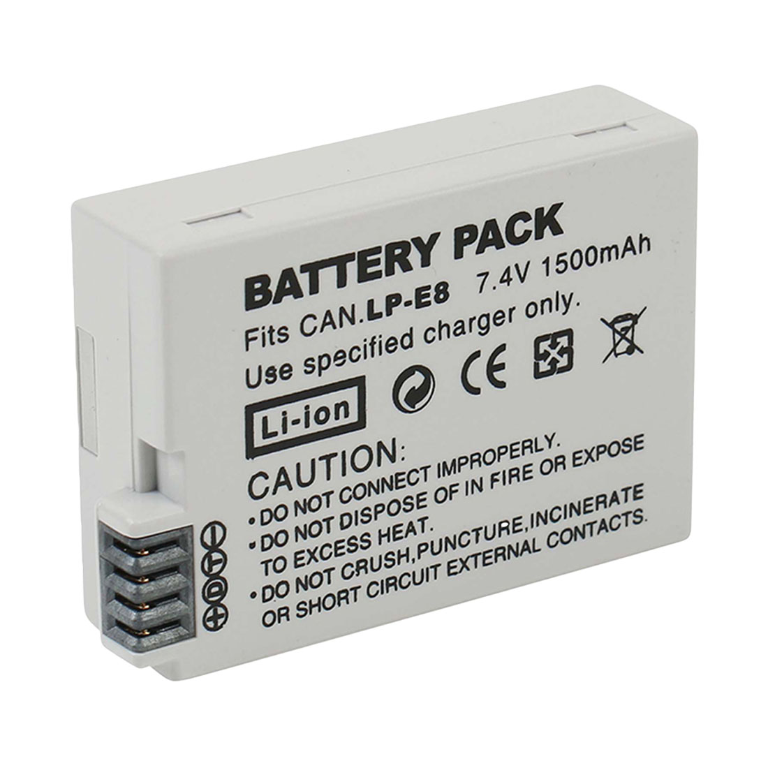 High Quality LP-E8 <font><b>Battery</b></font> Pack Bateria LP-E8 Lp E8 For <font><b>Canon</b></font> 550D 600D <font><b>650D</b></font> 700D X4 X5 X6i X7i T2i T3i T4i T5i DSLR Camera 0.11 image