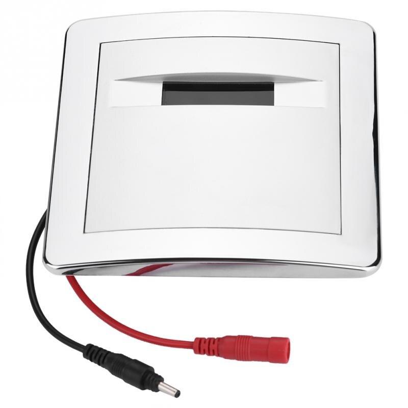 Lagere Prijs Met Urine Infrarood Sensor Urinoir Automatische Kruk Drukspoeler Hygiëne Waterbesparing Koperen Klep Hotel Badkamer