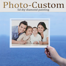 Photo Custom Private 5D DIY Diamond Painting  3d Daimond Embroidery Cross Stitch Full Square Round Mosaic Pattern