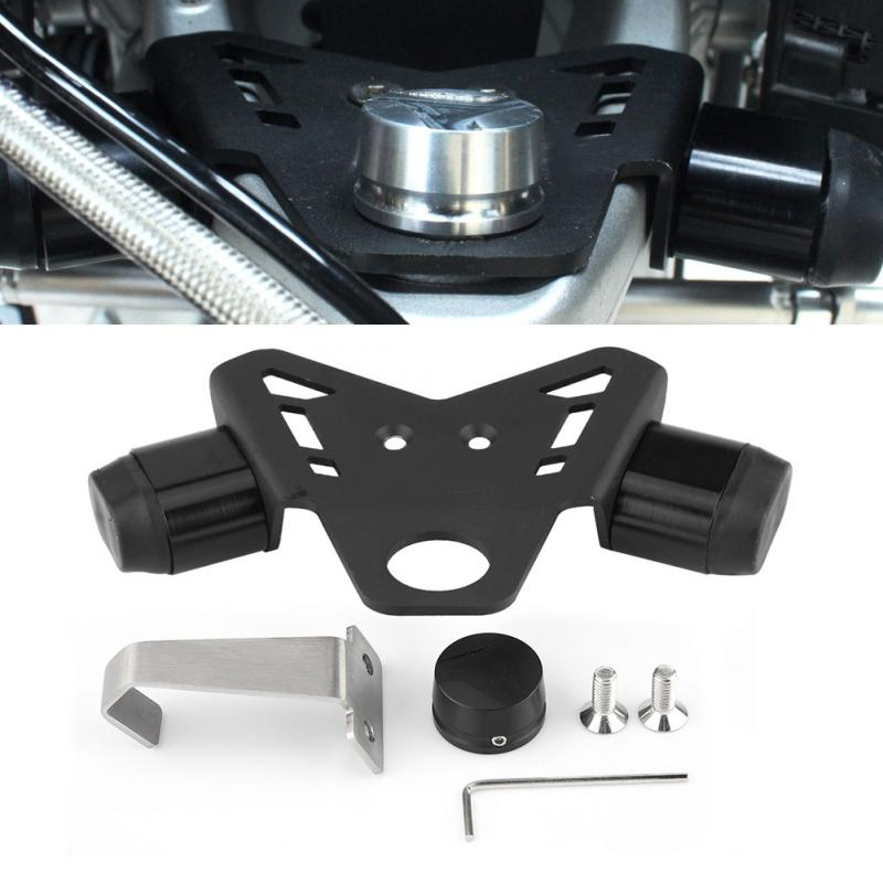 Aluminum Motorcycle Steering Stop Directional Positioner for BMW R1200GS LC 2013 2014 2017 LC Adventure 2014