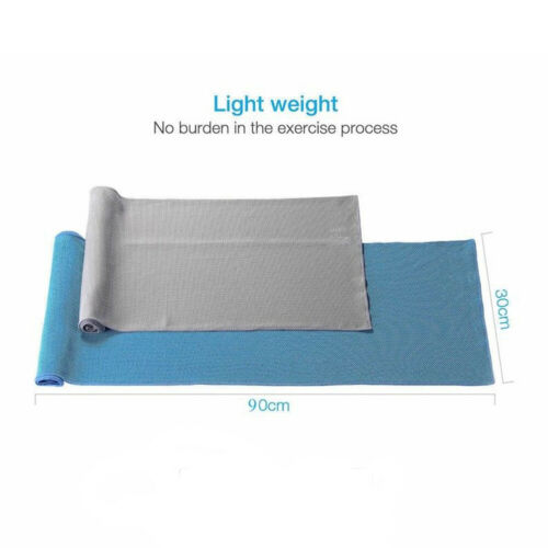 CW/_ 1PC Portable Quick-Dry Sweat-absorbent Sport Towel with Case Outdoor Gym Run