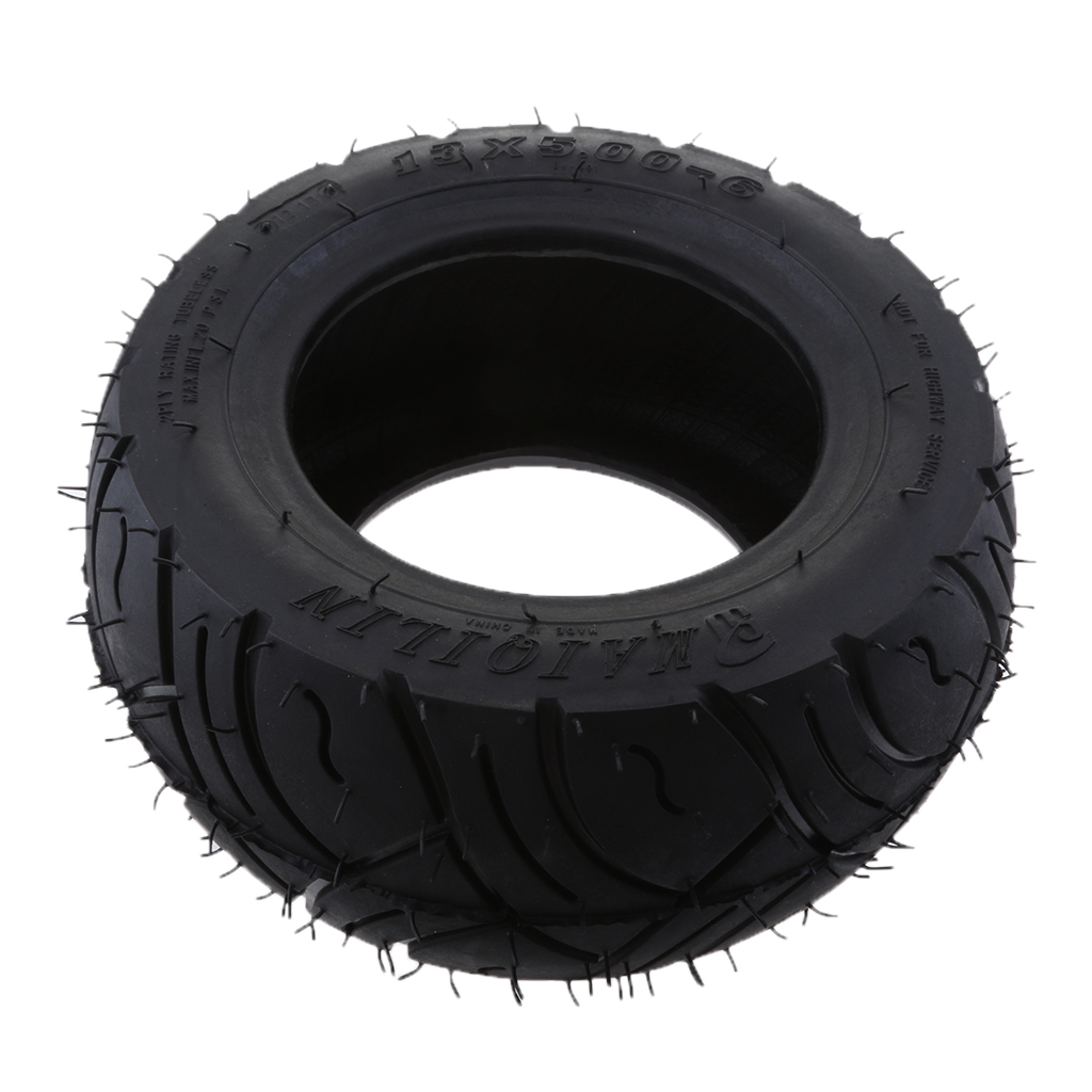 Tubeless Rubber Tire 13x5.00-6 inch Tyre Puncture Resistance for Electric Scooter ATV Quad Dirt bike 30pcs lot scooter bike automobile motorcycle tubeless tyre repairing rubber strips tire repair strip sealer