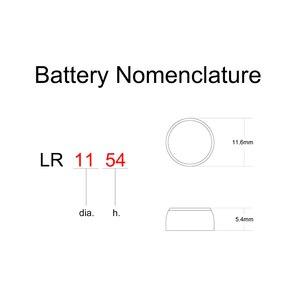 Image 3 - כפתור אלקליין LR44 1.5V מטבע AG13 Equivalences 76A G13 G13A D76A PX76A A76 GPA76 1166A RW82 4276 v13GA L1154 A613