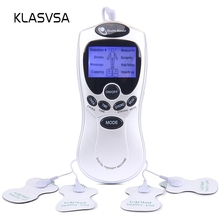 KLASVSA Electronic Acupuncture Stimulator Tens Pad Therapy T