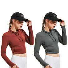 Yoga Shirts Women Gym Breathable Sportwear Fitness Gym Shirts Long Sleeve Slim Yoga Workout Blouse Clothes