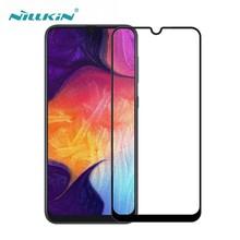 NILLKIN CP antideslumbrante Protector de pantalla para Samsung Galaxy A30/A50 2.5D seguridad protectora de vidrio templado para SAMSUNG A30 A50