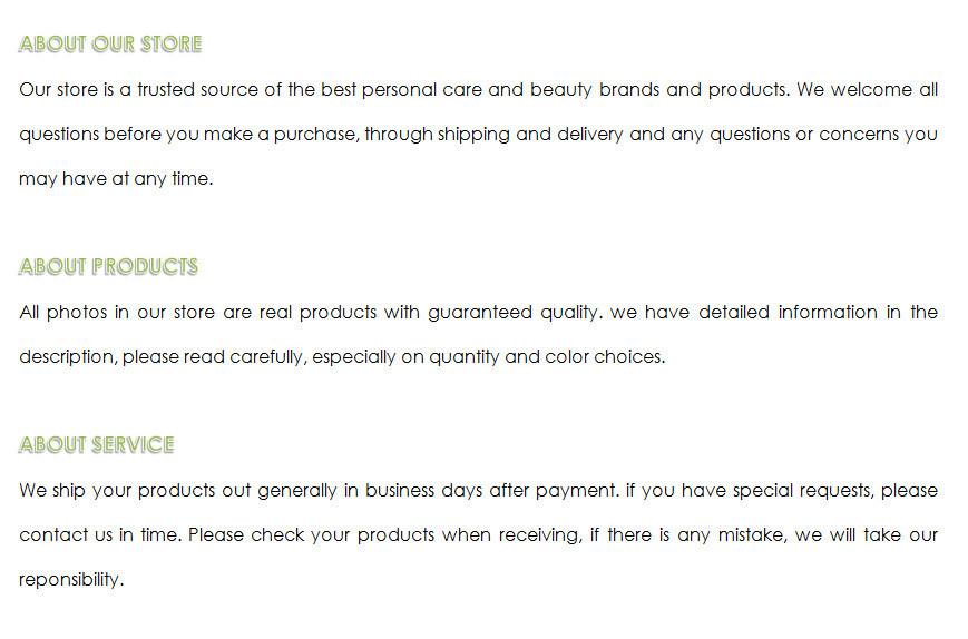shop policy no.23