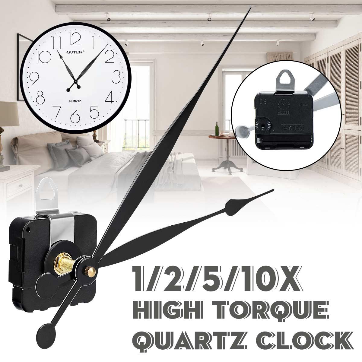 High Torque Quartz Controlled Clock Shaft Movement Motor Mechanism Hands Kit