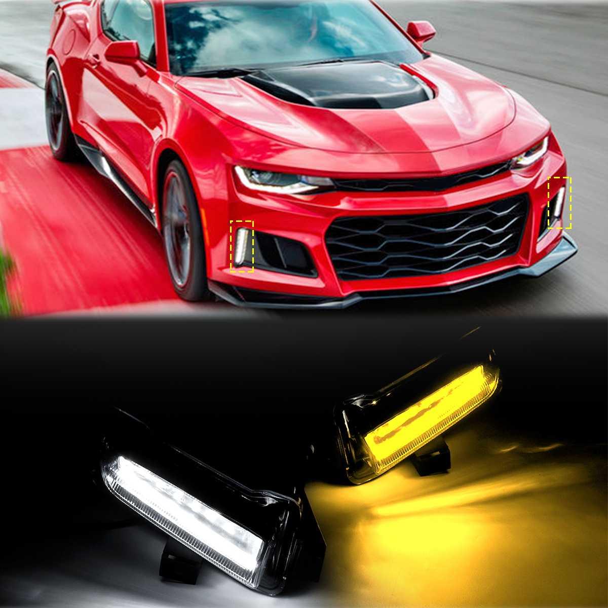 1PCS LH=RH Fog Driving Lamp Light Lighting For 2012-2015 Chevy Camaro ZL1