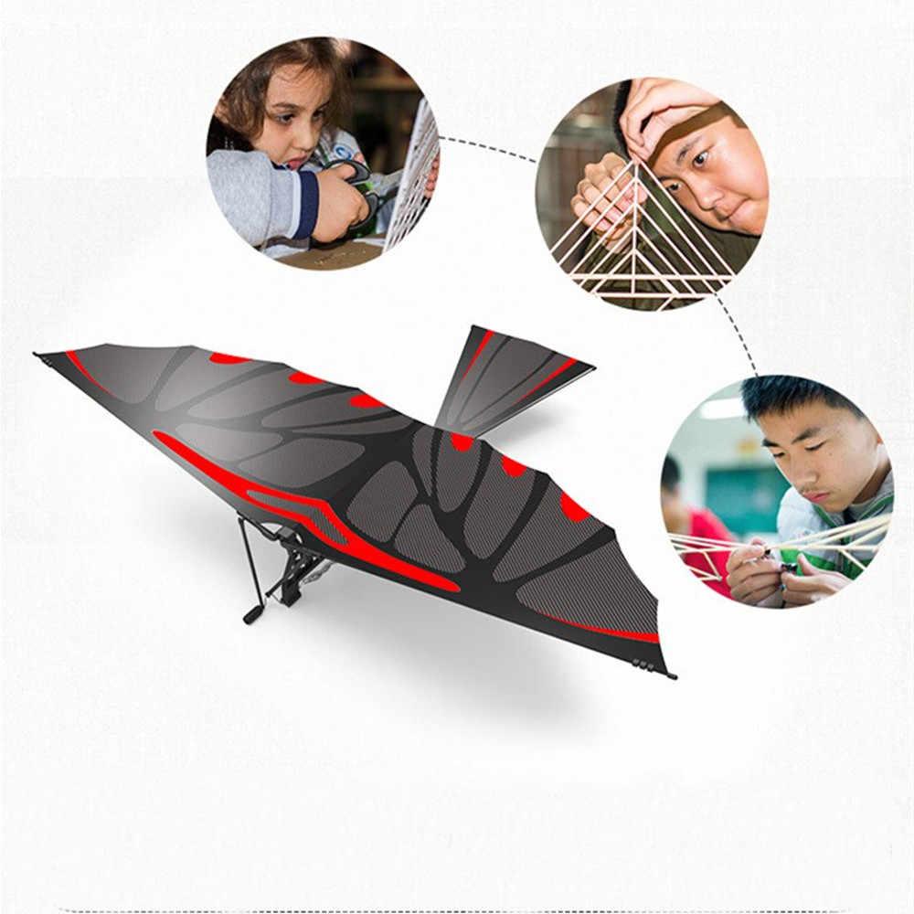 18 zoll Adler Carbon Faser Vögel Montage Flattern Flügel Flug DIY Modell Flugzeug Flugzeug Spielzeug
