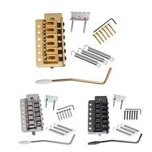 все цены на Tremolo Bridge +Hook Screws +Mount Claw+Tremolo Bar+Claw Mount Screws + Wrench Tremolo Bar Springs for Electric Guitar онлайн